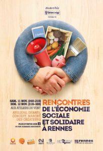 World Café aux Rencontres de l'Économie Sociale et Solidaire - Scarabée Biocoop @ Les Ateliers du Vent | Rennes | Bretagne | France